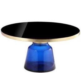 Stolik kawowy Fresno Blue Almi Decor 75x38cm