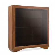 Komoda Decor Walnut Glass 3403 Ziemann 135x65x142cm
