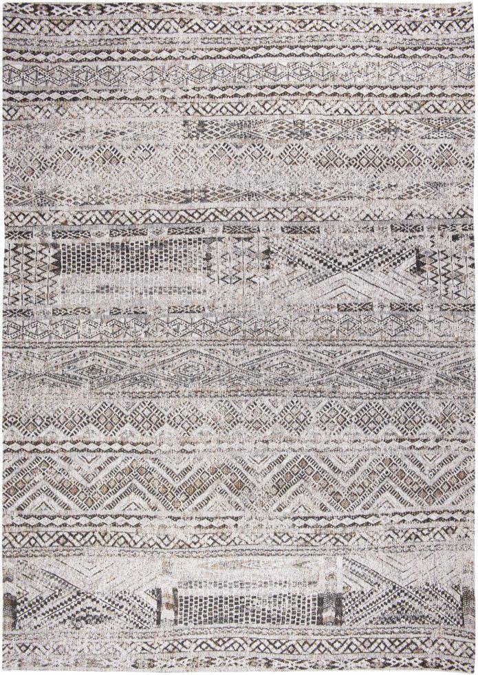 Biały Kilimowy Dywan - MEDINA WHITE 9114 Louis De Poortere