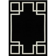 Dywan Hampton Black Carpet Decor