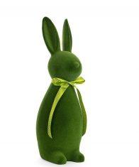 Królik z kokardką Bunny Green BBHome 47cm