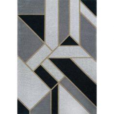 Dywan geometryczny Gatsby Black Carpet Decor