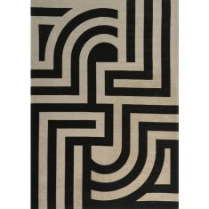 Dywan Tiffany Black Carpet Decor