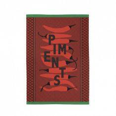 Ręcznik kuchenny Piments Carmin Kontatu Jean-Vier 50x70m