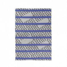 Ręcznik kuchenny Mapoésie X Jean-Vier Vagues Bleu 50x70cm