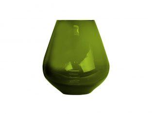 Wazon Tulip Olive Green BBHome18x22cm