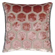 Poduszka dekoracyjna Manipur Coral Designers Guild 43x43cm