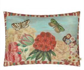 Poduszka dekoracyjna Garden Fantasy Fuchsia John Derian 60x45cm