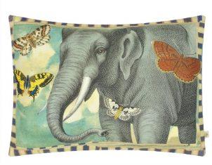 Poduszka dekoracyjna Elephant's Trunk Sky John Derian 60x45cm
