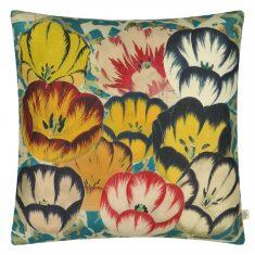 Poduszka dekoracyjnaTulips Cobalt John Derian 50x50cm
