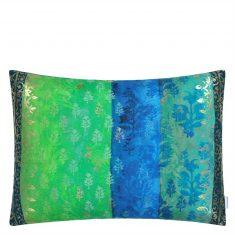 Poduszka dekoracyjna Kasavu Emerald Designers Guild 60x45cm