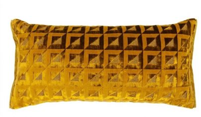 Poduszka dekoracyjna Monserrate Ochre Designers Guild 60x30cm bbhome