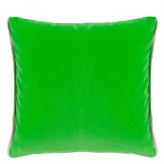 Poduszka aksamitna Varese Malachite & Navy Cushion Designers Guild bbhome