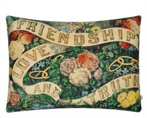 Poduszka dekoracyjna Friendship Forest John Derian 60x45cm