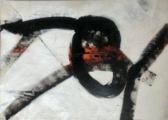 Obraz abstrakcyjny THE KNOT 140x100cm