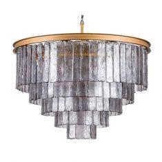 Lampa kryształowa Selene Graphit 82x52cm almi decor bbhome