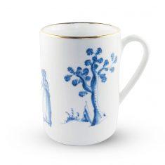 Kubek porcelanowy Spacer Zakochanych Majolika Nieborów 250ml