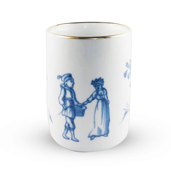 Kubek porcelanowy Spacer Zakochanych Majolika Nieborów bbhome