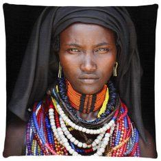 Poduszka dekoracyjna Baro Tura Girl Black FS Home Collections 45x45cm