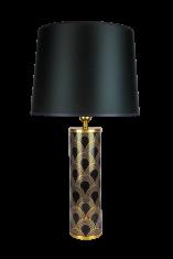 Lampa stołowa Art Deco La Volta De Nakomiady 10,5×35,5cm