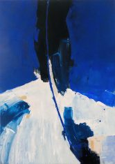 Obraz abstrakcyjny WATERFALLS BLACK MAGIC WOMAN 100x140cm