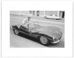 Fotografia Steve McQueen car 95x75cm