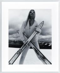 Fotografia Alpine Femme 85x105cm