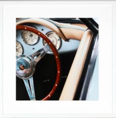 Fotografia Volant Porsche 85x85cm