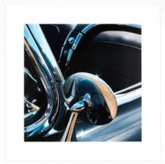 Fotografia Miroir Porsche 85x85cm