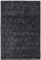 Dywan geometryczny Caravaggio Anthracite Sitap Carpet Couture Italia bbhome