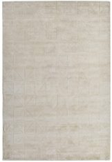 Dywan geometryczny Caravaggio Ecru Sitap Carpet Couture Italia
