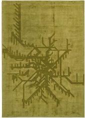 Dywan Metropolitan Green Sitap Carpet Couture Italia bbhome