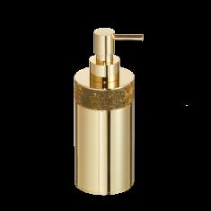 Dozownik na mydło Rocks Gold Decor Walther 7,5 x 6,5×17,5cm