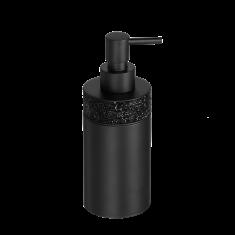 Dozownik na mydło Rocks Black Decor Walther 7,5 x 6,5×17,5cm