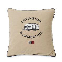 Poduszka dekoracyjna Airstreamer Cotton Canvas Lexington 50x50cm