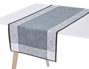 Bieżnik na stół Ottomane Slate Jacquard Français bbhome