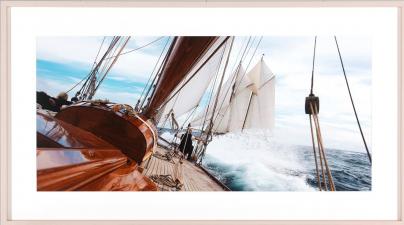 Fotografia Yacht at Sea I 115x65cm