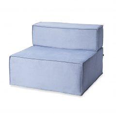 Fotel NOi Blue 90x90x67cm- z ekspozycji