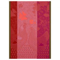 Ręcznik kuchenny Pink Farm Family Jacquard Français 60x80cm