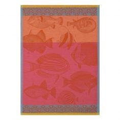 Ręcznik kuchenny Moorea Coral Jacquard Français 60x80cm