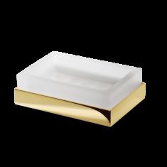 Mydelniczka Gold Cube Decor Walther 9x13x4cm