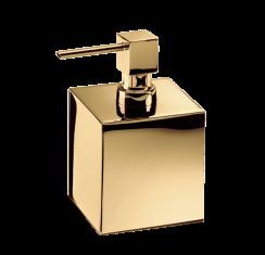 Dozownik na mydło Gold Cube Decor Walther 8,5×8,5x14cm