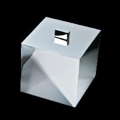Pojemnik kosmetyczny Chrome Cube Decor Walther 13x13x14,5cm