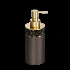 Dozownik do mydła Rocks Dark Bronze Decor Walther Ø6.5×17,5cm