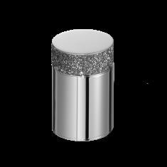 Pojemnik kosmetyczny Rocks Chrome Decor Walther 6,5 x 6,5×11,6cm