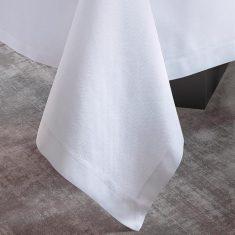 Obrus White Tiret Jacquard Français bbhome