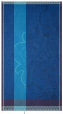 Mata plażowa Jaipur Lapis Lazuli Jacquard Français 100x200cm