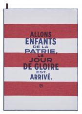 Ręcznik kuchenny Patrie Tricolore Elysée Jacquard Français 60x80cm