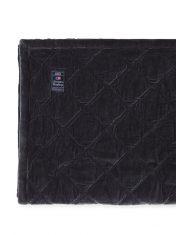 Narzuta Quilted Cotton Bedspread Graphite Lexington 160x240cm