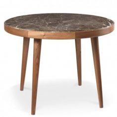 Stół okrągły z kamieniem 7140 AMARANTH Ziemann